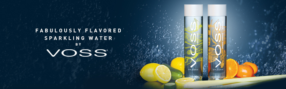 VOSS Water of Norway Adds Two Flavored Sparkling Waters